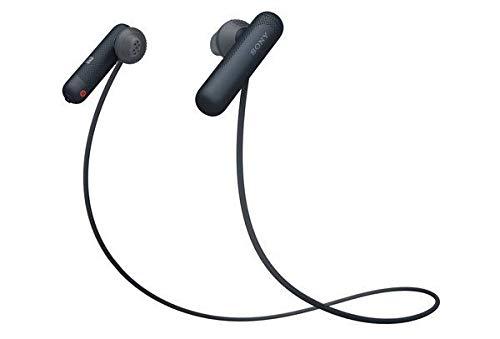 Sony WI-SP500 Wireless in-Ear Sports Headphones, Black (WISP500/B)
