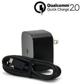Turbo Fast Powered 15W Wall Charging Kit Works for Lenovo Vibe X2 Pro with Quick Charge 2.0 USB 1M (3.3ft) MicroUSB Cable!