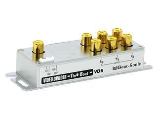 ビートソニック (Beat-Sonic) 映像分配器 1入力6出力 VD6 B003M5U4B0