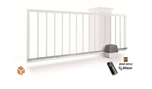 Hormann LineaMatic abridor de puerta corredera operador BiSecur Motor eléctrico Series 3: Amazon.es: Bricolaje y herramientas