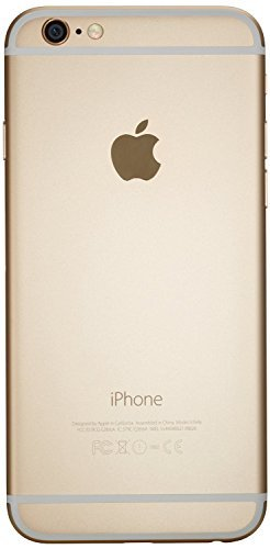 Price comparison product image Apple iPhone 6 16GB Factory Unlocked GSM 4G LTE Smartphone,  Gold (Certified Refurbished)