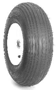Nanco N739 Wheelbarrow Rib Lawn & Garden Tire - - 8 Wheelbarrow