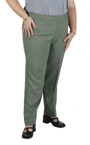 Women's Plus Size Pine Bend Over Pull-On Pants