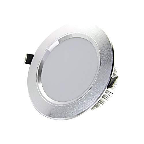 w/18w/21w LED Spotlight Bulb Lamp Recessed Downlight Ceiling Light Aluminum Panel Light Indoor Lighting Kitchen Hallway Living Room Corridor Lounge Decoration ()