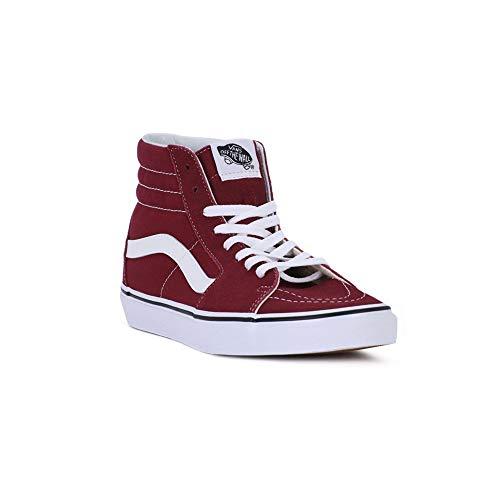 (Vans SK8-Hi Rumba Red/True White (7.5 Women / 6 Men M US))