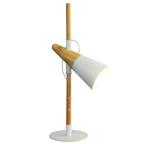 (Reading Light Development of Lighting Fixture Table Lamp/Task Light Adjustable High and Low Solid Wood Small Table Lamp/Task Light Bedchamber Bedside Lamp/Nightstand Lamp, BOSSLV)