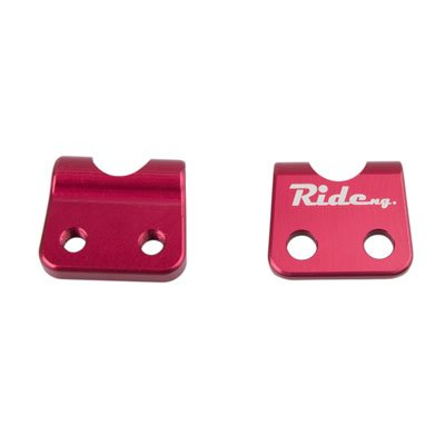 Ride Engineering Billet Brake Line Clamp Red for Yamaha WR250X 2008-2011