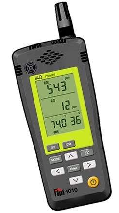 - TPI 1010a Co2, Co, Temperature, Humidity Iaq Meter