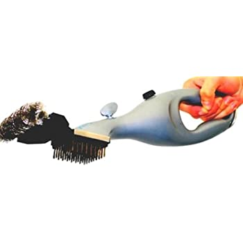 Grill Daddy Grill Brush Original Dirty Grill Killer Steam BBQ Grill Brush Cleaner for a Spotless Clean Grill and Healthier Tastier Barbeque. Cleans Gas or Charcoal Grills