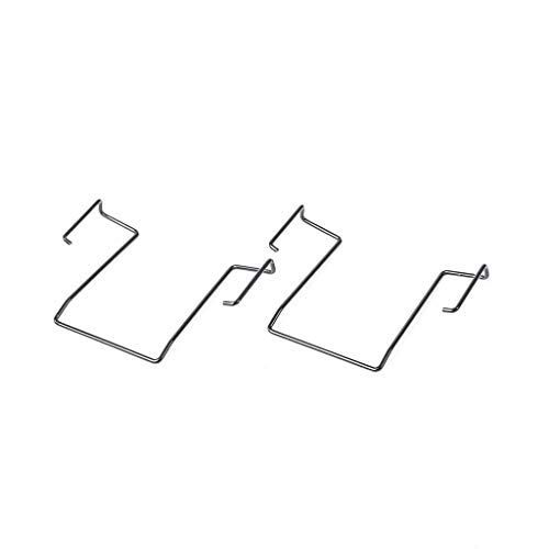 Mc2 Replacement - Saramonic SR-UM10-MC2 Replacement Belt Clips for TX10 or TX9 Transmitter, UwMic9, UwMic10, VmicLink5 and UwMic15 Wireless Systems, 2 Pack