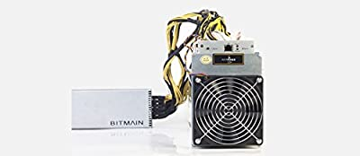 AntMiner L3+ ~504MH/s @ 1.6W/MH ASIC Litecoin Miner with APW3++ 1200W@110v 1600W@220v / 10 Connectors PSU Power Supply In Stock Free Fast Shipping