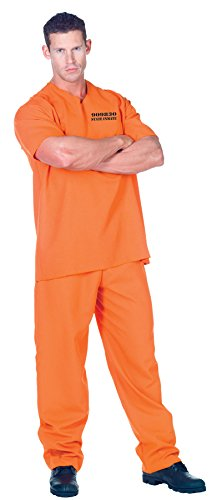 Inmate Costume - Public Offender Convict Adult