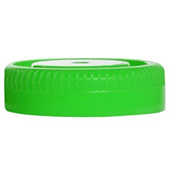 Samco Scientific 5A 0044 Green Bio-Tite Cap, Bulk Pack, 48mm Diameter, For Non-Sterile Specimen Container (Case of 2000)
