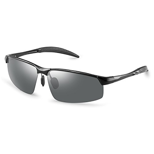 Polarized Sunglasses for Men - Great For Sports, Fishing, Driving Without Glare