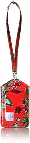 Chic Luggage Tags - Vera Bradley Women's Iconic Luggage Tag-Signature, Coral Floral