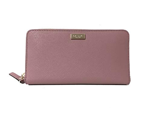 Kate Spade Newbury Lane Neda Leather Wallet (Dusty Peony) by Kate Spade New York