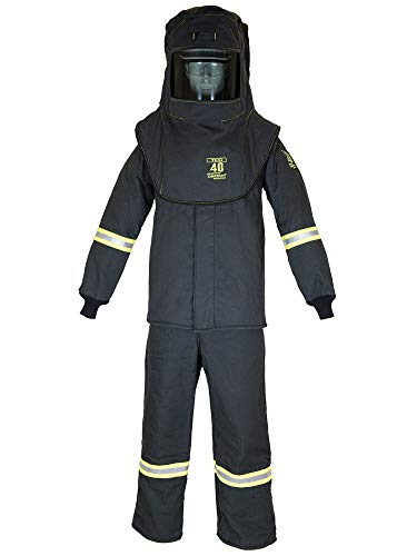 TCG40 Series Arc Flash Hood, Coat, & Bib Suit Set