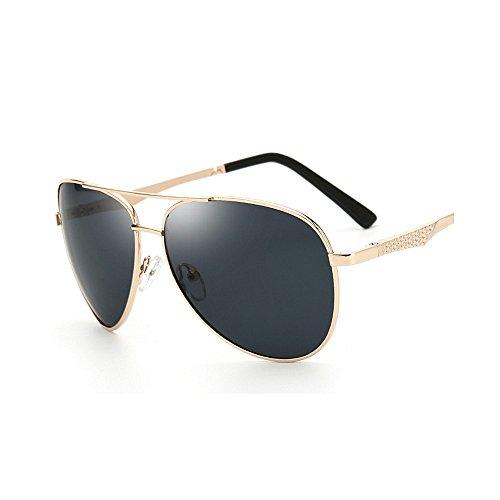 SunglassesMAN Color Brown Gafas Metal Hombres Ultra de Sol Ligero de Marco Conducción de de los Black de polarizadas Yxsd Deporte rfqTwr