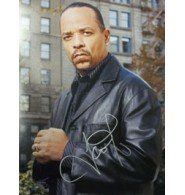 Signed Ice-T (Law & Order Special Victims Unit) 11x14 Photo ()