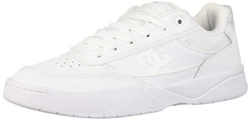 DC Men's Penza Skate Shoe, White, 8.5 M ()