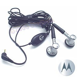 OEM Motorola HS120 Stereo Hands-Free Headset Earphones for 2.5mm Phone Models CHYN4516 SYN9870 (Motorola Nextel Part)