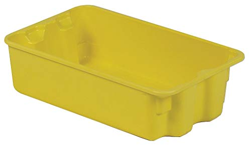(Lewisbins Heavy Duty Stack and Nest Container, Fiberglass Reinforced Polyester, 17-7/8