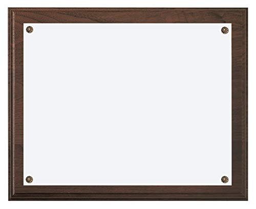 Natural North American Walnut Wall Plaque, 10 1/2 x 13 ()