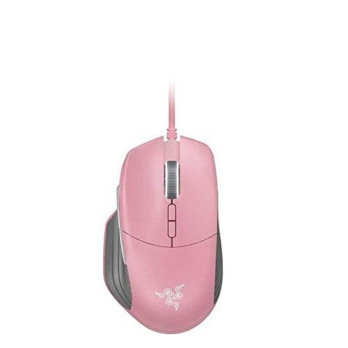 Razer Basilisk Gaming Mouse - [Quartz Pink]: 16,000 DPI Optical Sensor - Chroma RGB Lighting - 8 Programmable Buttons - Mechanical Switches - Customizable Scroll Resistance