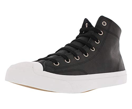 12 m Converse white Purcell Jack Us D Sneakers Leather Mid Black nRfFRHq