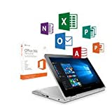"""2016 Newest ASUS Transformer Book Flip 11.6"""" Touch 2 in 1 Laptop/Tablet with 1-year Office 365 Personal (Intel Dual Core up to 2.16 GHz, 2GB DDR3, 32GB eMMC, 802.11ac, USB 3.0, Bluetooth, Windows 10)"""
