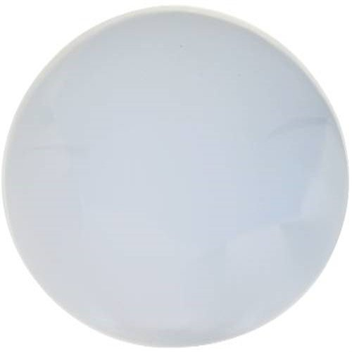 Monument F002237 Round Fluorescent Ceiling Cloud, White, Uses One 22W Or 32W Circline Lamp, Plastic, 5.2