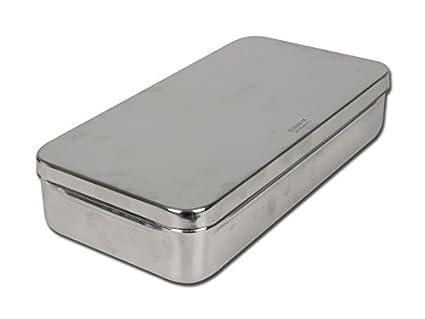 Gima S.P.A 5871, caja de acero inoxidable, 30 cm x 15 cm x 6 cm: Amazon.es: Industria, empresas y ciencia
