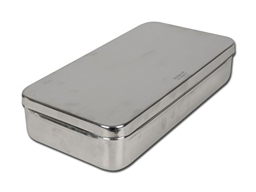 GIMA S.p.A 5871 Stainless Steel Box, 30 cm x 15 cm x 6 cm 26656