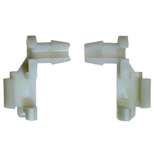 PT Auto Warehouse BCF8898T - Tailgate Handle Rod End Retainer Clip - Replace OE #: 88981030, and OE #: 88981031, Set of 2 Retainer Clips (Retainer Clip Set)