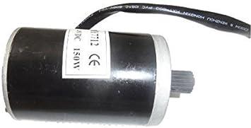 Hmparts Elektor Motor Motor Moto Eléctrica E-Scooter 24V 150W My 7712