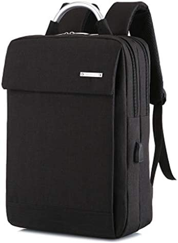 PBTRM Schlanker Laptop-Rucksack,Wasserdicht Business Taschen Rucksäcke Mit USB Ladeanschluss Für Herren Damen Arbeit Reisen Schule,A