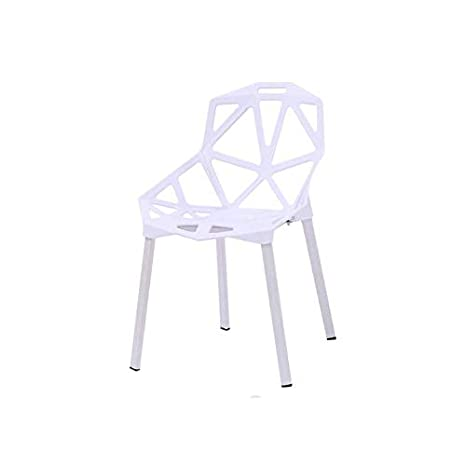 Amazon.com: LYXPUZI Silla Lazy Nórdica Geometría Hollow ...