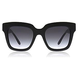 Dolce & Gabbana Women's Acetate Woman Square Sunglasses, Black, 51 mm