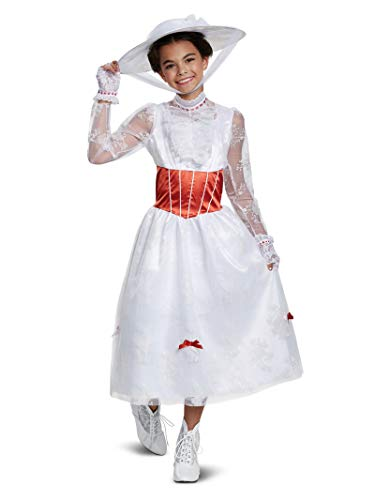 Mary Poppins Childrens Costume (Disney Mary Poppins Deluxe Girls')