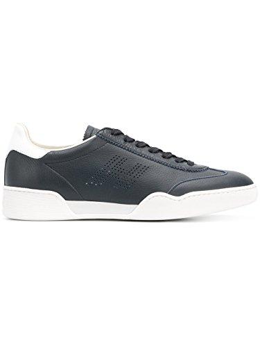 HOGAN Men's Hxm3570ad40i7m568v Blue Leather Sneakers