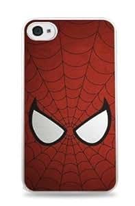 Spiderman Apple iPhone 6 (4.7 inch) i6 Hard Case - White - 315