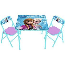 Amazon.com: FROZEN Activity Table and 2 Chair Set - Disney Frozen ...