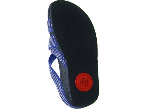 Fitflop con Tm Sandali Criss Slinky Cross Tacco Rokkit Blue Donna rFwq4rSY