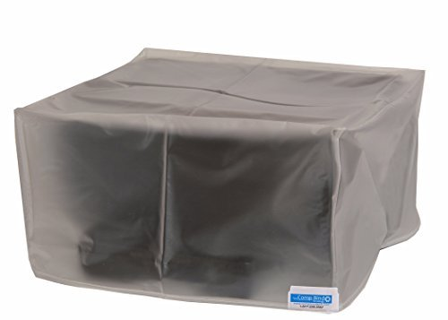 Comp Bind technology Printer Dust Cover for Canon Color ImageCLASS MF733Cdw Laser Printer Clear Vinyl Anti-Static Dust Cover By Comp Bind Technology Size 18.5''W x 18.5''D X 18.1''H CB3838