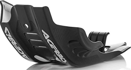 Acerbis Black/White Skid Plate