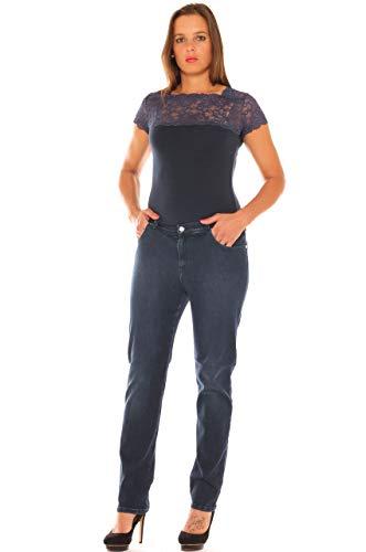 Jeans Stretch Denim Donna A Morbida Taglia In Sigaretta qrqRT6xwf
