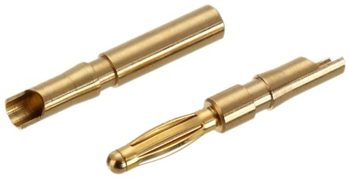 Jamara 95649 - Goldkontakt 2 mm  100 Paar