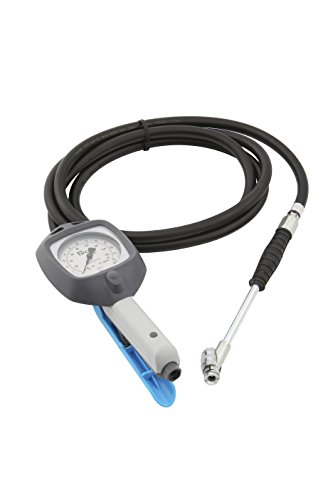 PCL - AFG1H08 Dial Gauge Tire Inflator (6' Hose, Single Lock On Chuck) ()