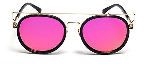 GAMT Vintage Retro Oval Lens Aviator Sunglasses Metal Frame UV Protection Unisex - Uk Glasses Prescription Motorcycle
