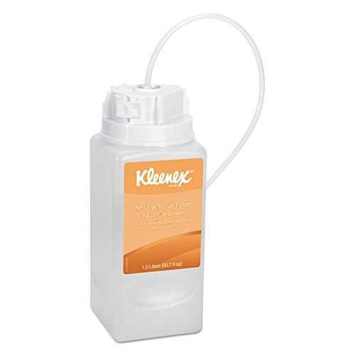 1,500 Ml Refill (Kleenex 11279 Antibacterial Foam Skin Cleanser, Fresh Scent, 1500ml)